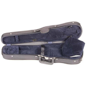 Blue Wooden Violin Case