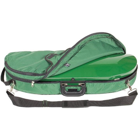 Image of half moon fiberglass violin case