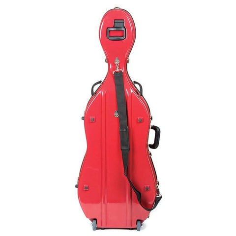 Bobelock red cello case