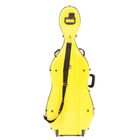 Image of yellow cello case
