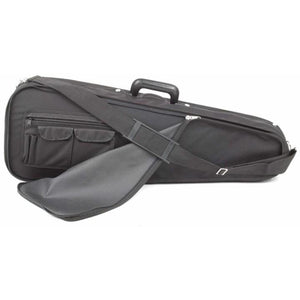Bobelock 2028 Arrow Viola Case Blue Velour Interior