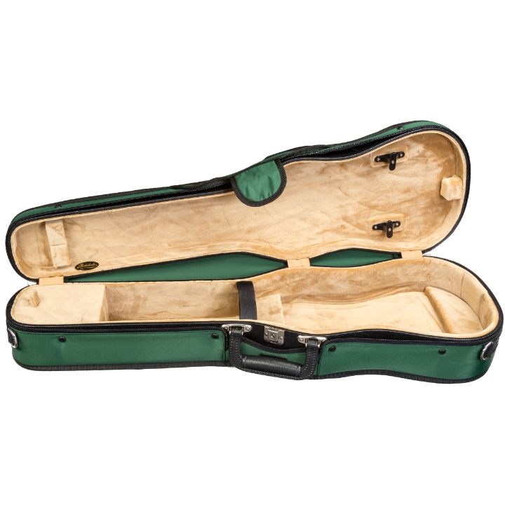 Bobelock Green 1007 Puffy Shaped Violin Case- Interior