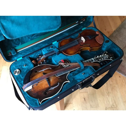 Image of violin mandolin combo case
