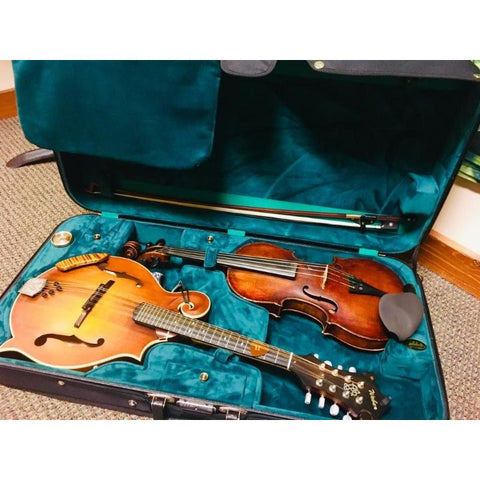 Image of violin mandolin double case