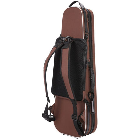Brown Pedi Niteflash Superlite Pro Violin Case