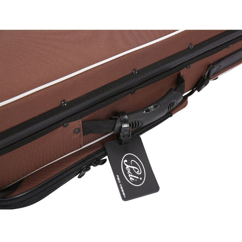 Image of Brown Pedi Niteflash Superlite Pro Violin Case