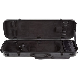 Howard Core CC450 Scratch-Resistant Violin Case Black