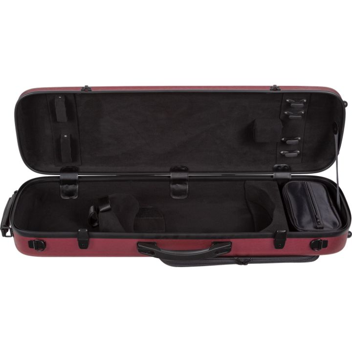 Howard Core CC450 Scratch-Resistant Violin Case Red