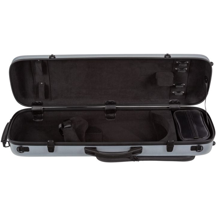 Howard Core CC450 Scratch-Resistant Violin Case Silver