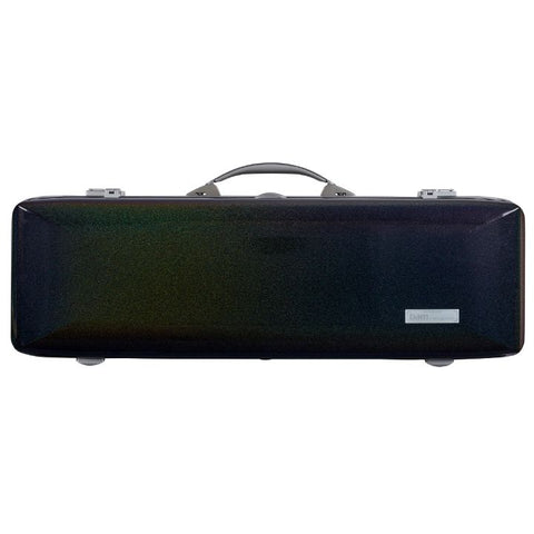 Image of Bam Supreme Cosmic Polycarbonate Oblong Violin Case Silver