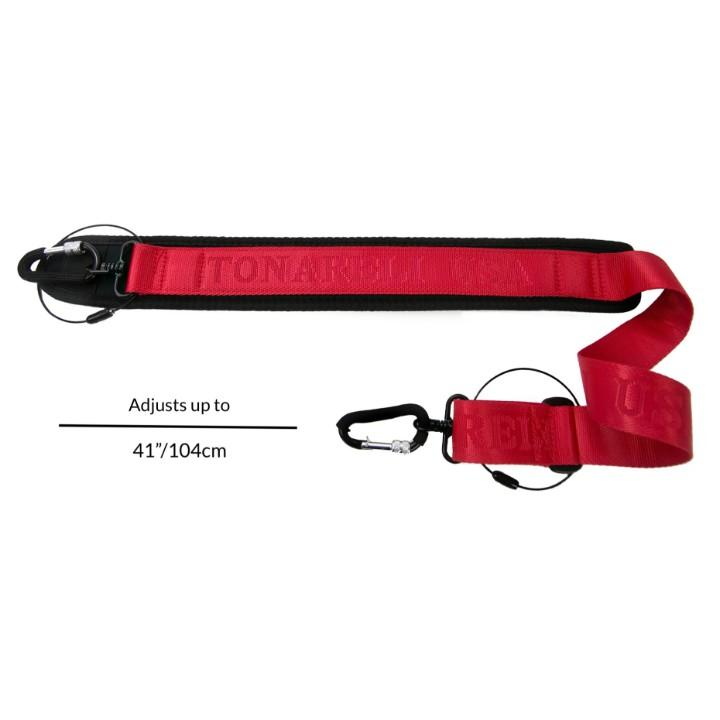 Red Tonareli Shoulder Strap