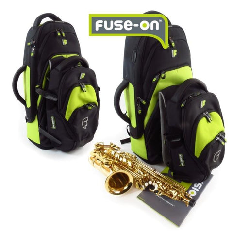 Image of Fusion Premium Alto Sax Gig Bag Orange