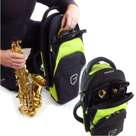 Image of Fusion Premium Alto Sax Gig Bag Lime