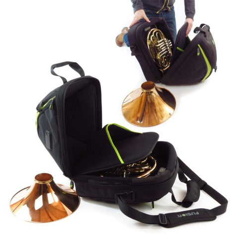 Image of Black Fusion Premium Detachable French Horn Gig Bag
