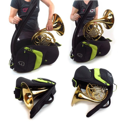 Fusion Premium French Horn Gig Bag Lime