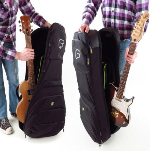 Fusion Urban Double Electric Guitar Gig Bag Black