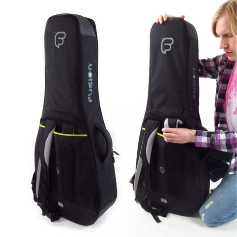 Image of Fusion Urban Dreadnought Guitar Gig Bag Blue
