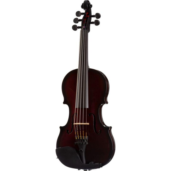 Glasser Acoustic Electric 5-String Violin Red