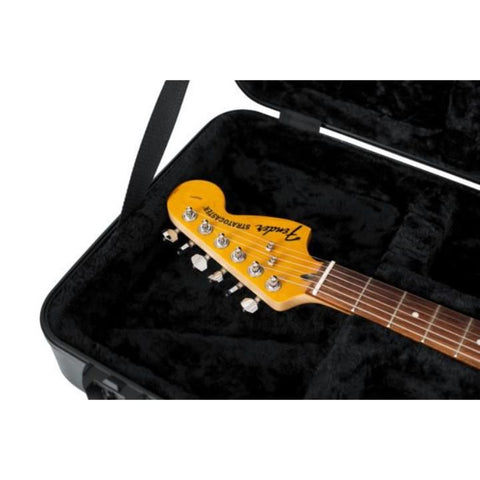 Gator Black TSA Standard Electric Guitar Case - Interior