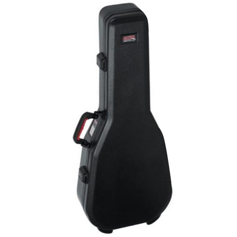 Gator Black TSA/ ATA Classical Guitar Case Front