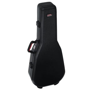 Gator Black Dreadnought Acoustic Guitar Case - Front
