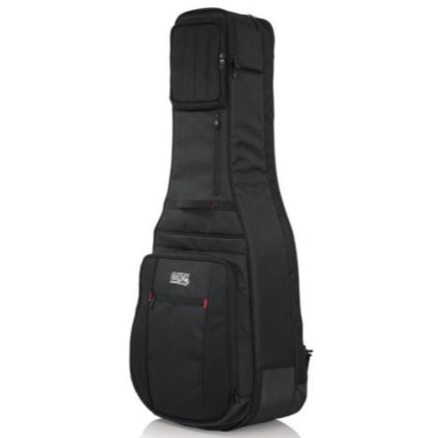 Gator Pro-Go Acoustic / Electric Double Guitar Gig Bag Side