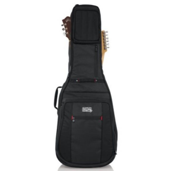 Gator Pro-Go Acoustic / Electric Double Guitar Gig Bag Front