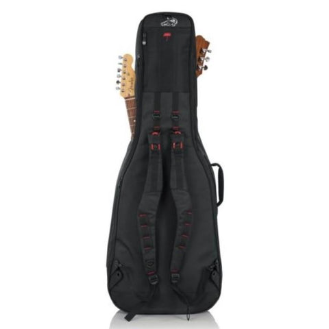 Gator Pro-Go Acoustic / Electric Double Guitar Gig Bag Back