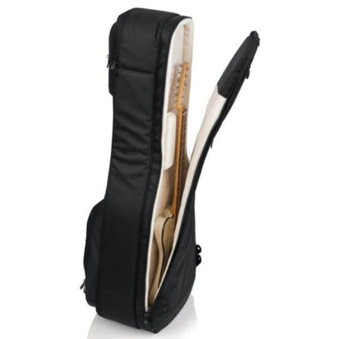 Gator Pro-Go Acoustic / Electric Double Guitar Gig Bag Interior