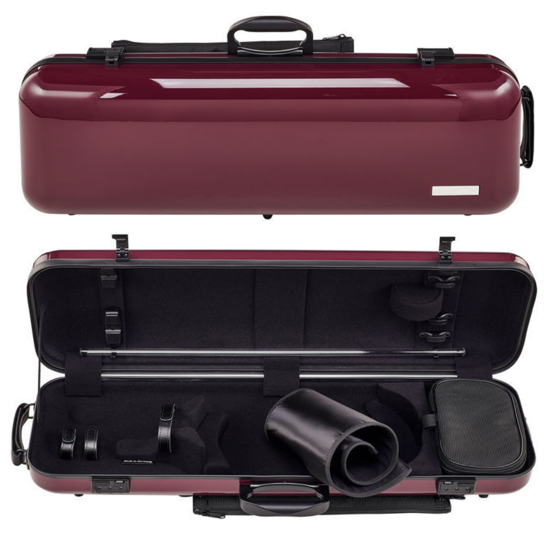 Gewa Air 2.1 Oblong Purple Violin Case - Front