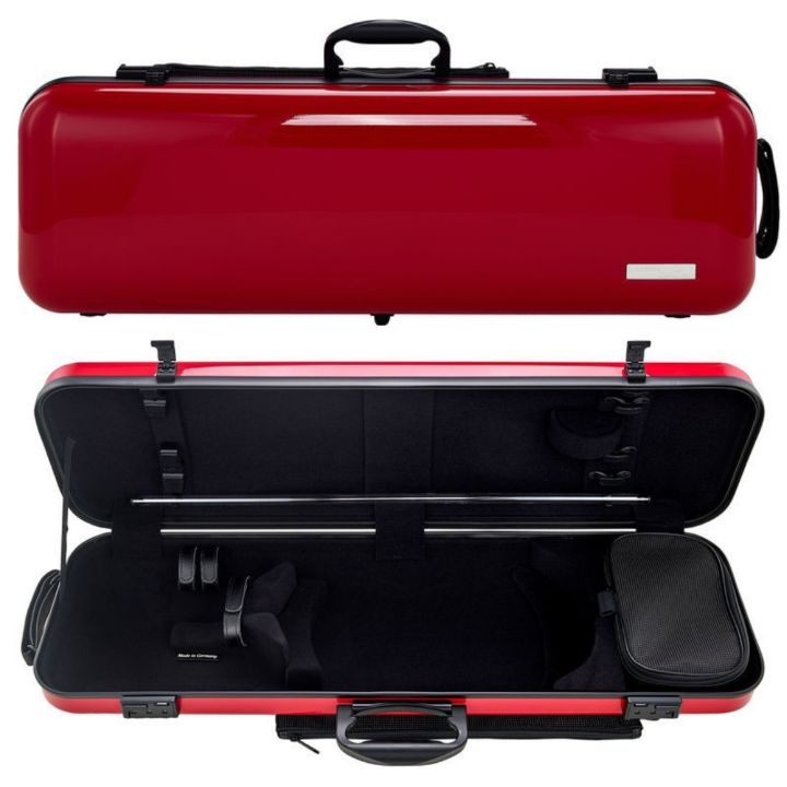 Gewa Air 2.1 Oblong Red Violin Case - front