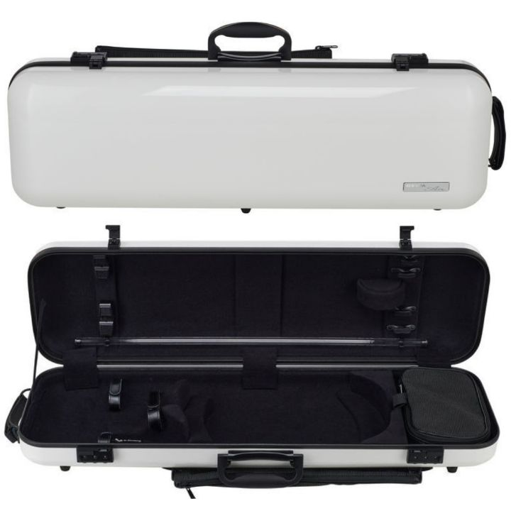 Gewa Air 2.1 Oblong White Violin Case - Front