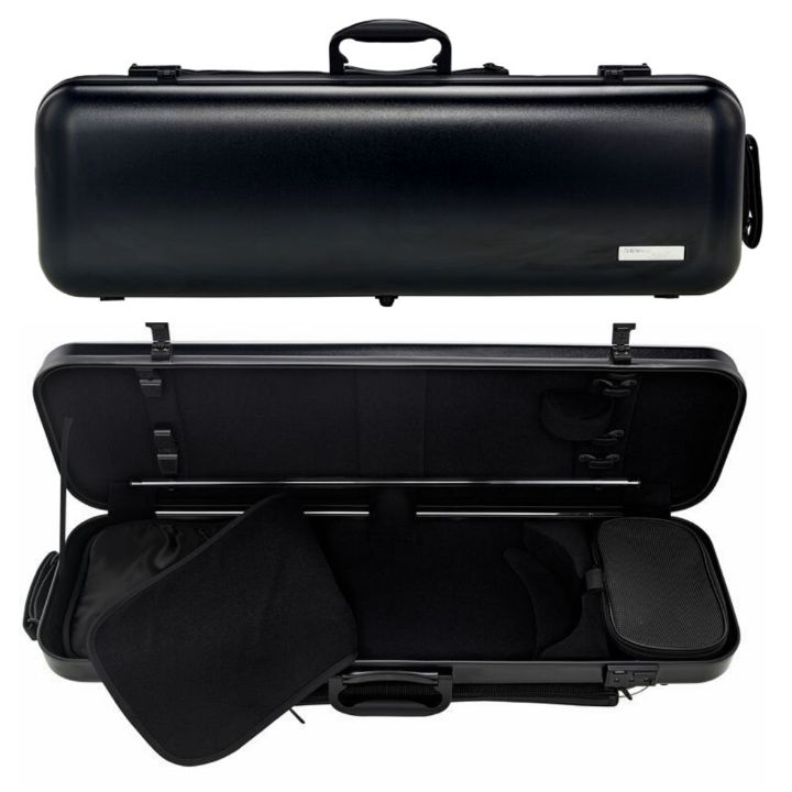 Gewa Air Matte black oblong violin case