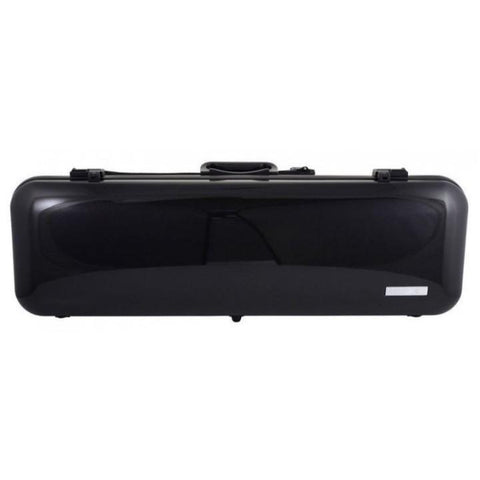 Gewa Air 2.1 Oblong Metallic Black Violin Case - Front