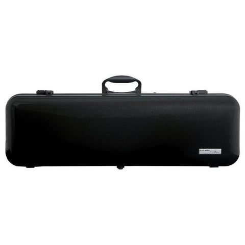 Gewa Air 2.1 Oblong Matte Black Violin Case - Front