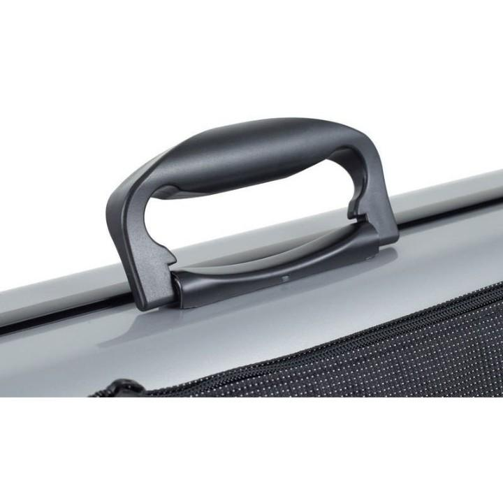 Gewa Air 2.1 Metallic Silver Oblong Violin Case - Handle