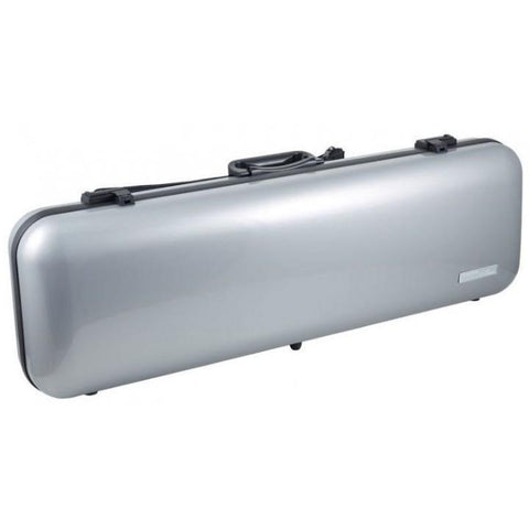 Image of Gewa Air 2.1 Metallic Silver Oblong Violin Case
