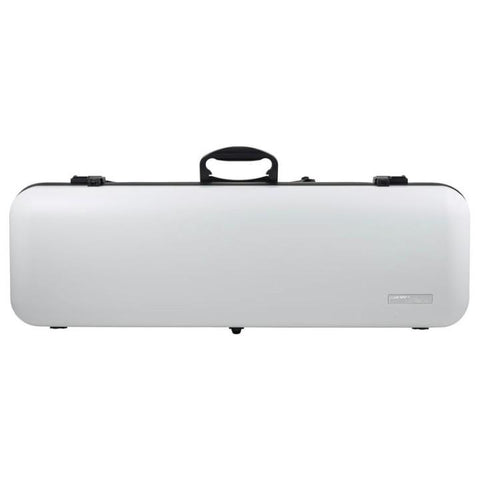Gewa Air 2.1 Matte White Oblong Violin Case - Front