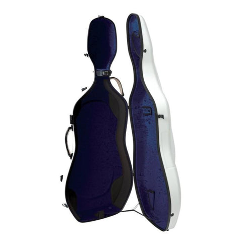 Image of light cello caseblue interior