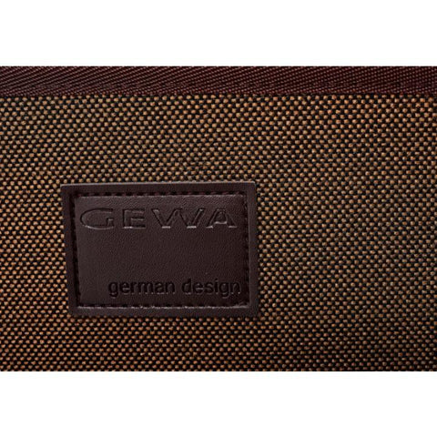 Gewa Bio-S Brown Oblong Violin Case - Logo