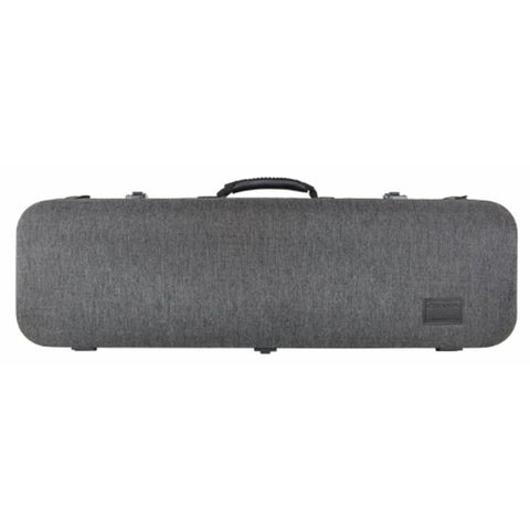 Image of Gewa Bio-S Oblong Gray Violin Case - Front
