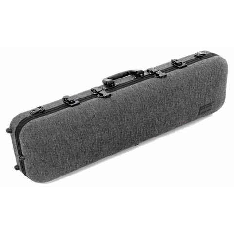Image of Gewa Bio-S Oblong Gray Violin Case - Side
