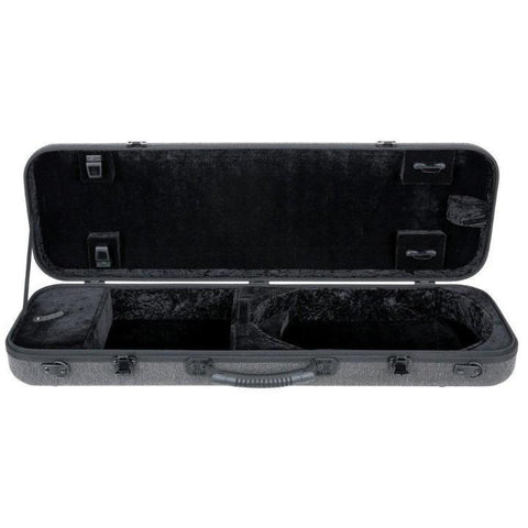 Image of Gewa Bio-S Oblong Gray Violin Case - Interior
