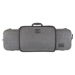 Gewa Bio-S Oblong Gray Violin Case with Pocket - Front