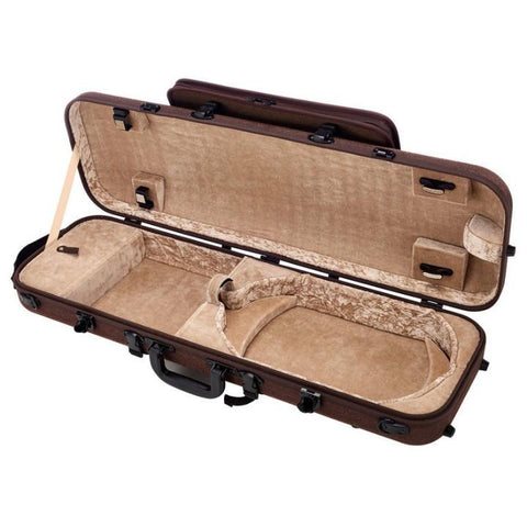 Gewa Bio-S Oblong Violin Case with Pocket - Interior
