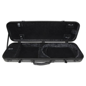 Gewa Bio-S Oblong Gray Violin Case with Pocket
