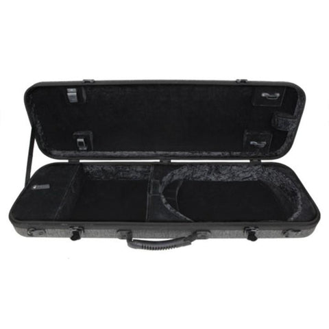 Image of Gewa Bio-S Oblong Gray Violin Case with Pocket - Interior