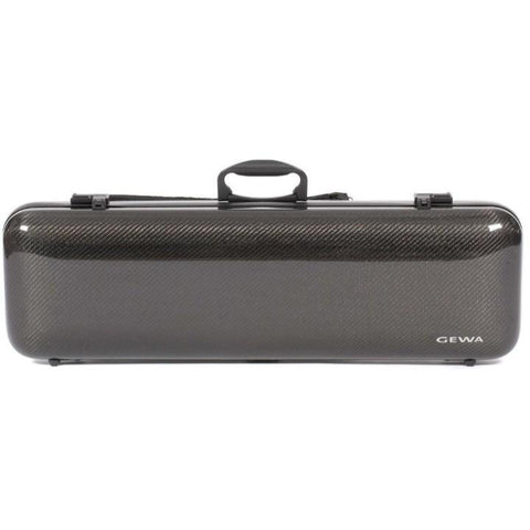 Gewa Idea 1.8 Oblong Carbon Fiber Violin Case - Front