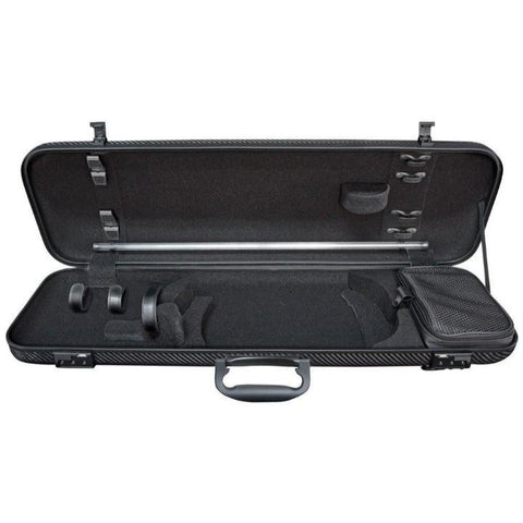 Gewa Idea 1.8 Oblong Carbon Fiber Violin Case - Interior