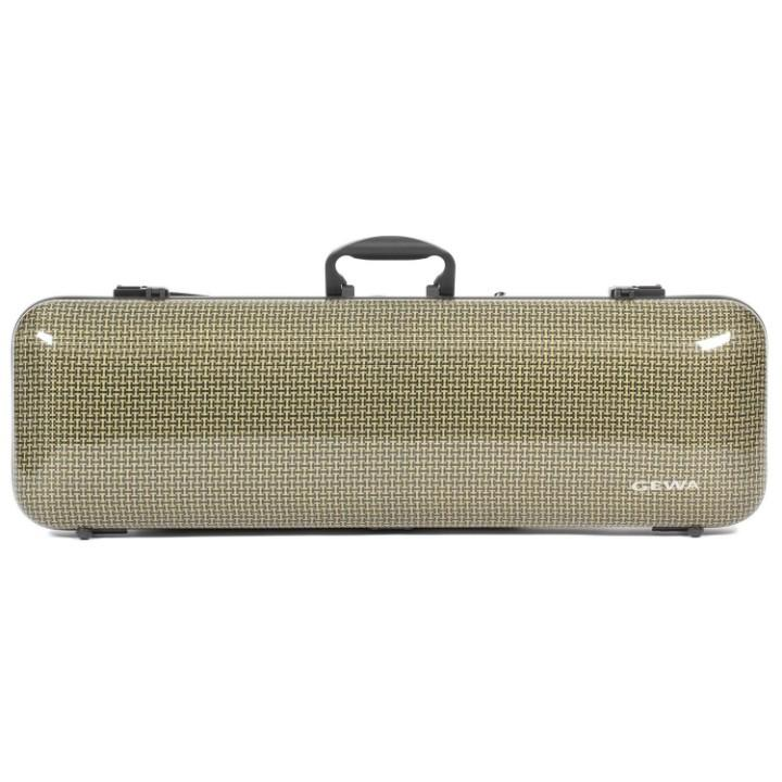 Gewa IDEA 1.9 Oblong Carbon Fiber Violin Case- Front